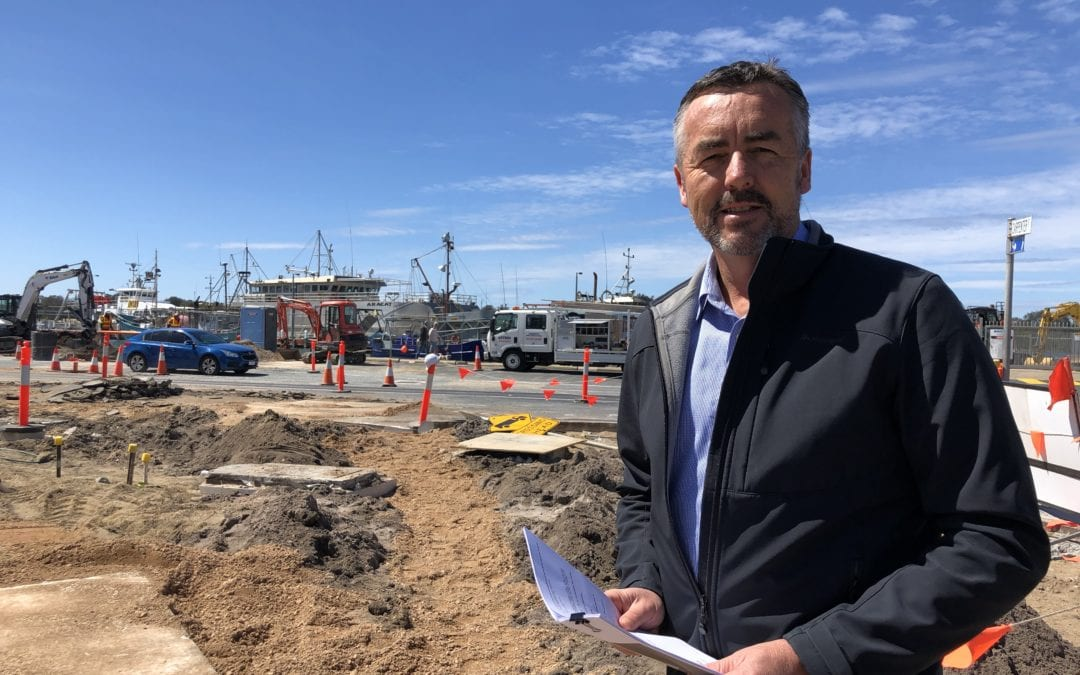 CHESTER THANKS LOCALS FOR PATIENCE AS LAKES ENTRANCE ESPLANADE REDEVELOPMENT CONTINUES