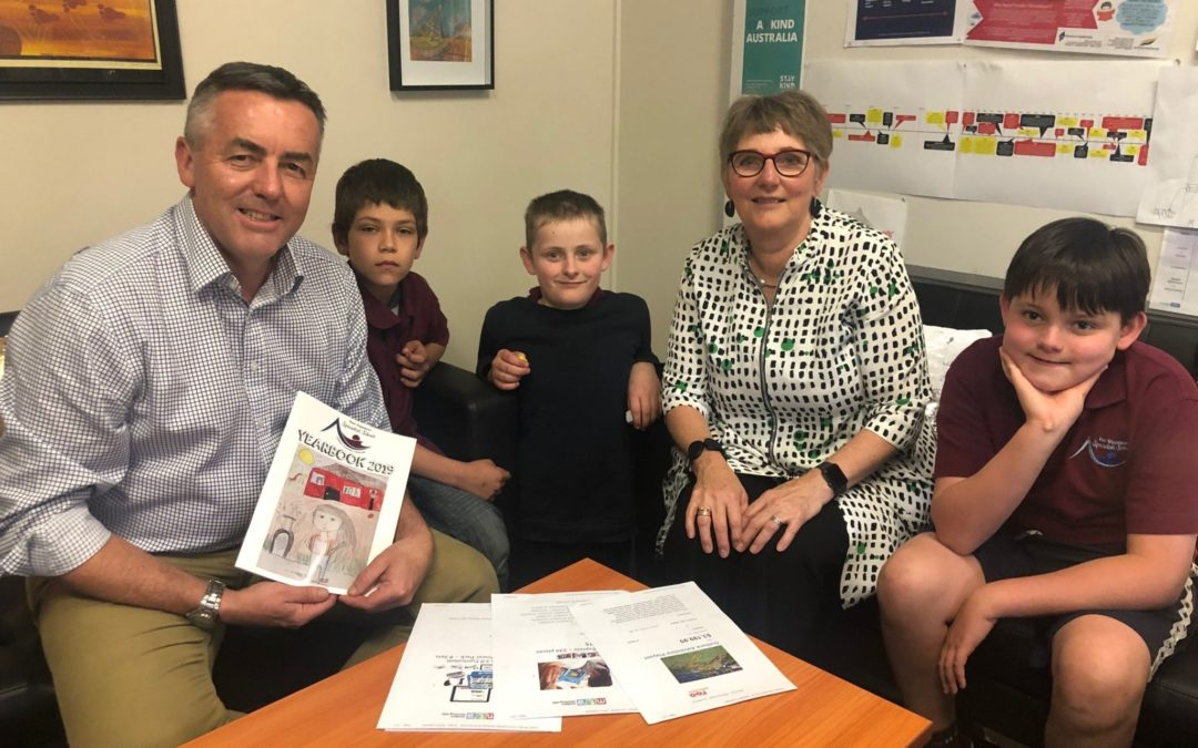 A HELPING HAND FOR EAST GIPPSLAND SPECIALIST SCHOOL