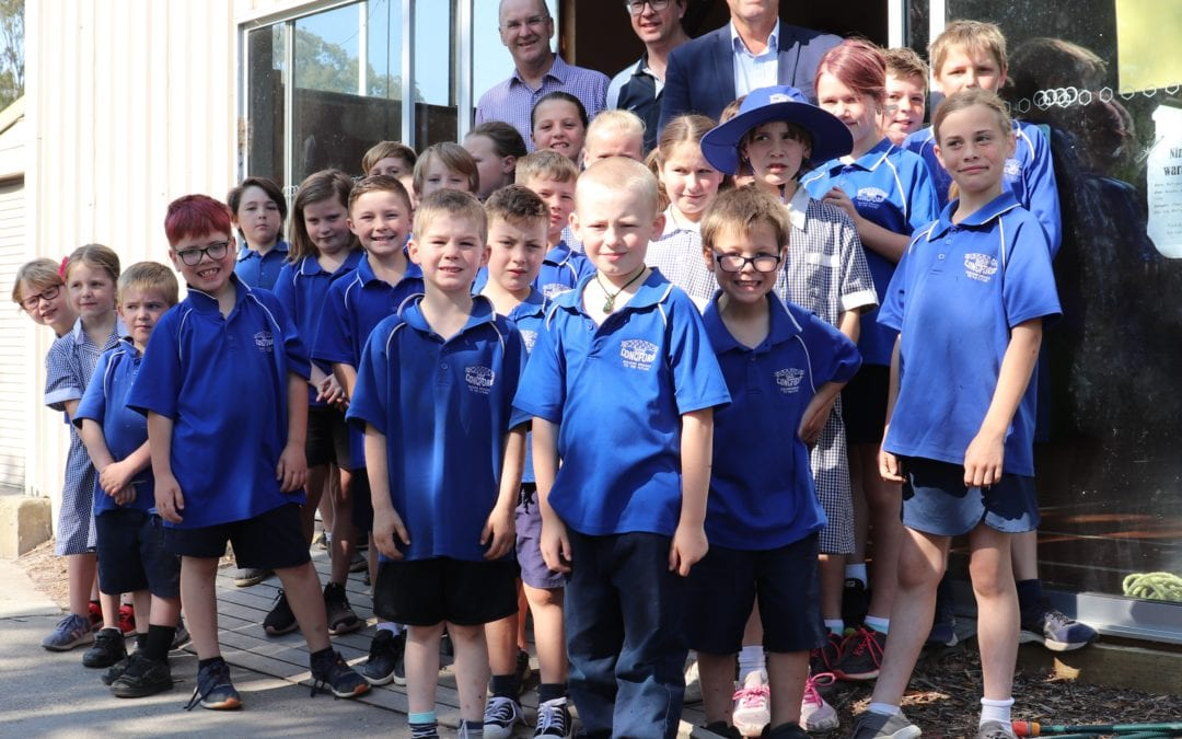 A WELCOME GIFT FOR LONGFORD PRIMARY SCHOOL