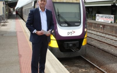 WORK UNDERWAY ON CASE FOR TRARALGON TO CITY FASTER RAIL