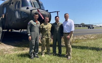 CHESTER THANKS SINGAPOREAN AIR FORCE FOR BUSHFIRE SUPPORT