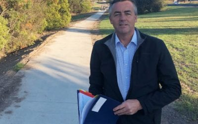 TRARALGON-MORWELL SHARED PATHWAY ALMOST FINISHED