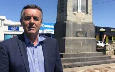 CHESTER ANNOUNCES $137,000 FOR BAIRNSDALE CENOTAPH