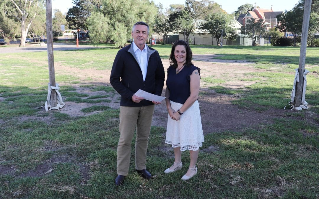$20,000 TO RESTORE HEYFIELD PRIMARY SCHOOL'S OVAL