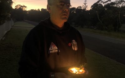 GIPPSLANDERS SPEND ANZAC DAY AT HOME
