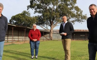 $254,000 FOR ALL-WEATHER DOME AT MAFFRA'S RECREATION RESERVE