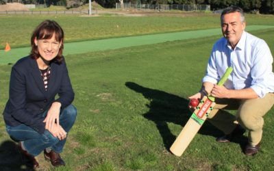 END IN SIGHT FOR WORKS AT KEEGAN STREET RESERVE