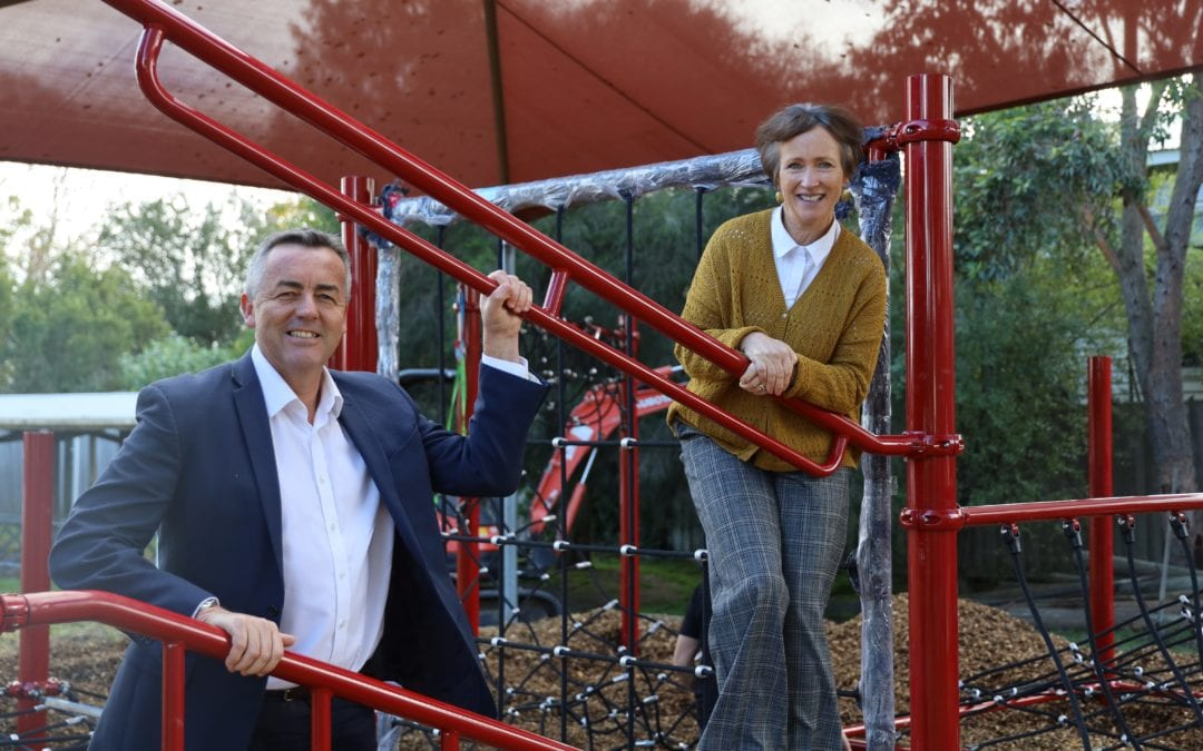 NEW PLAYGROUND READY TO CHALLENGE YARRAM PRIMARY STUDENTS