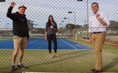 $130,000 FOR NEW FENCES AT MAFFRA LAWN TENNIS CLUB