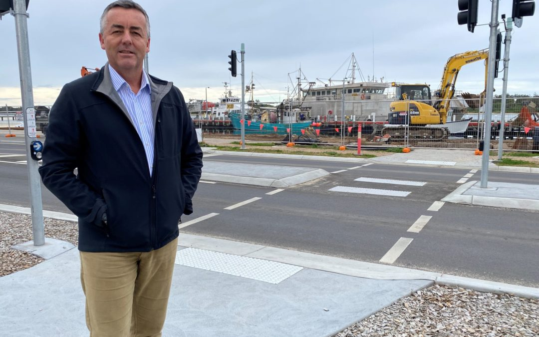 TRANSFORMATION OF THE ESPLANADE CONTINUES AT LAKES ENTRANCE