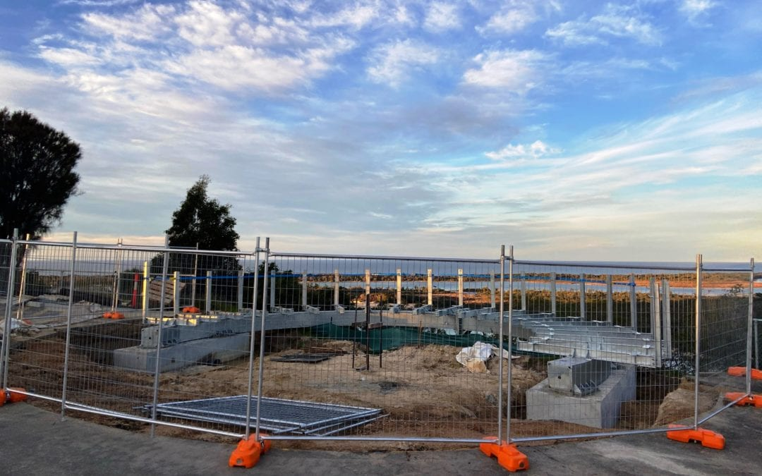 STEELWORK ARRIVES AT NEW KALIMNA LOOKOUT SITE