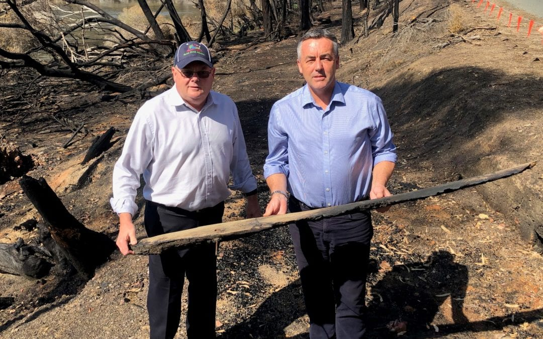 DIRECT FINANCIAL HELP FOR BUSHFIRE SURVIVORS PASSES $20 MILLION