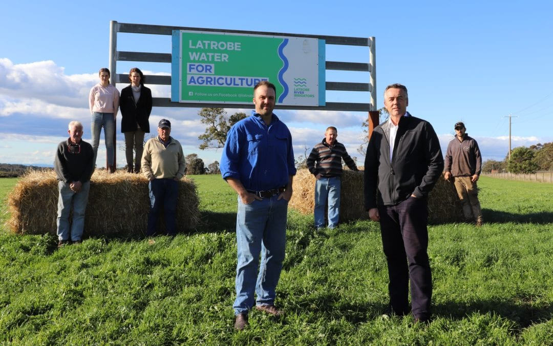 WIN FOR LATROBE RIVER IRRIGATORS