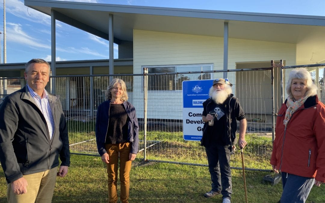 ALMOST DONE: MALLACOOTA'S COMMUNITY CLUBROOMS NEARLY FINISHED