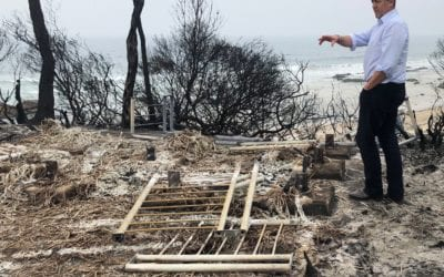 HELP TO REPAIR AND REPLACE COMMUNITY FACILITIES LOST IN THE BUSHFIRES