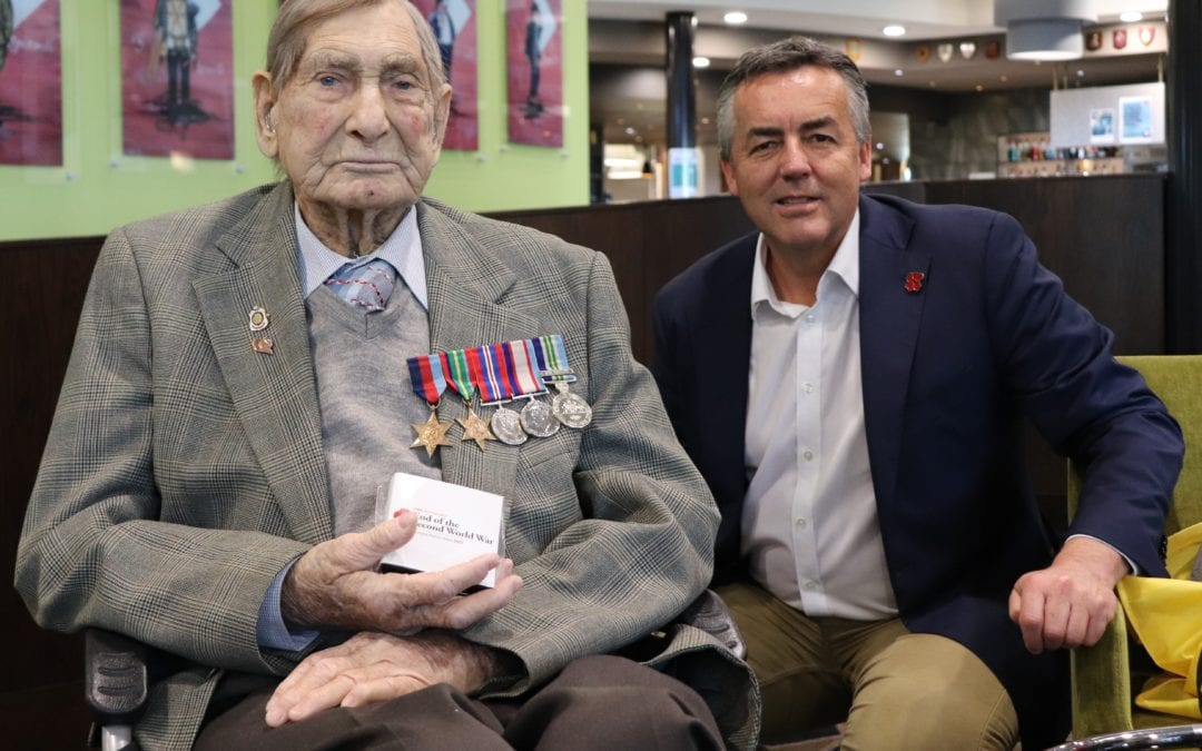 WORLD WAR TWO VETERANS TO RECEIVE 75TH ANNIVERSARY MEDALLION