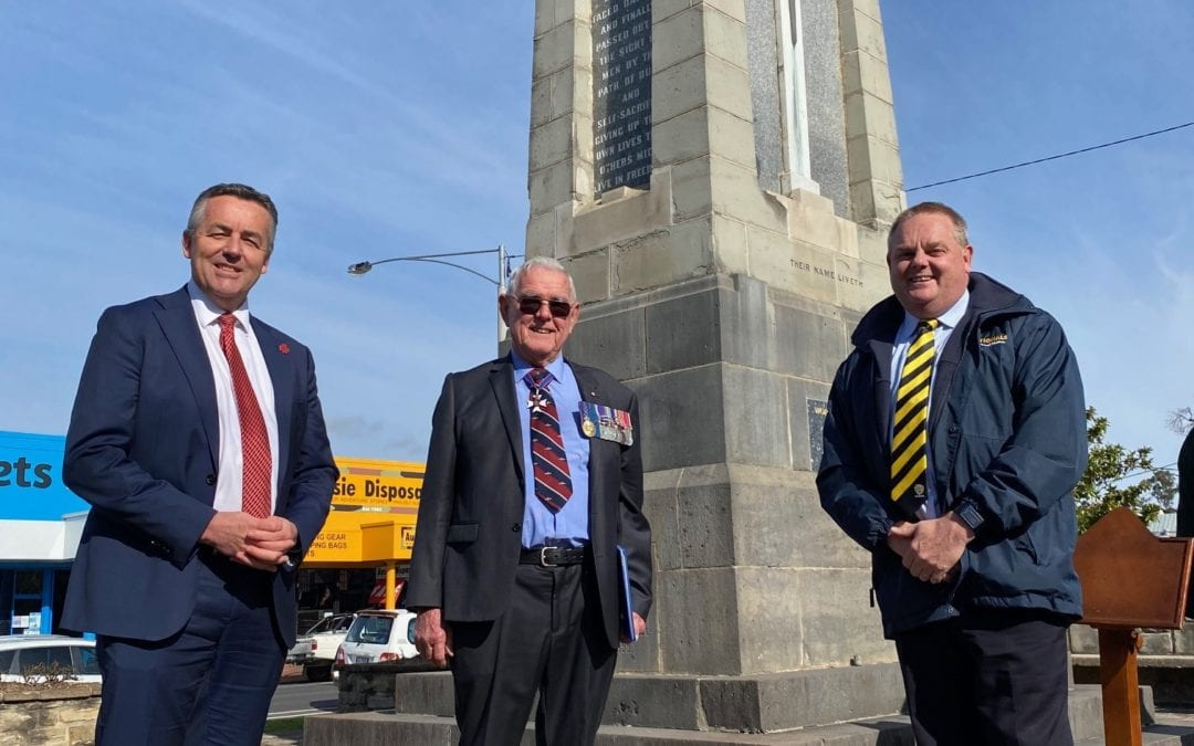 RESTORATION OF BAIRNSDALE'S CENOTAPH MOVES AHEAD
