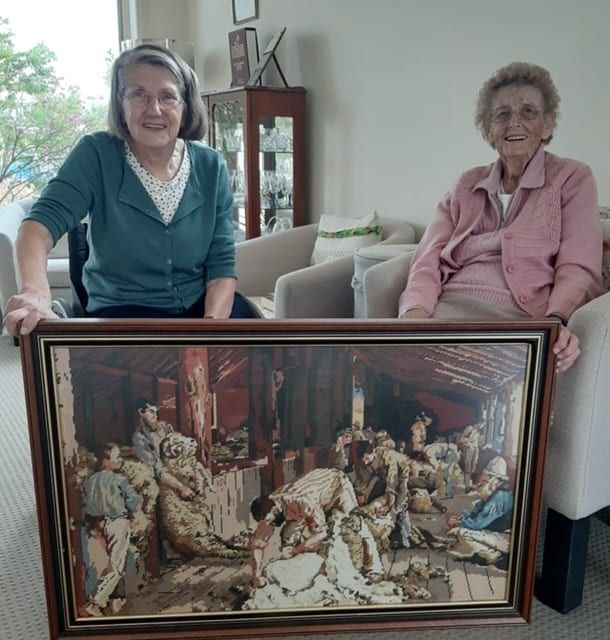 TAPESTRIES FIND NEW HOME IN OMEO
