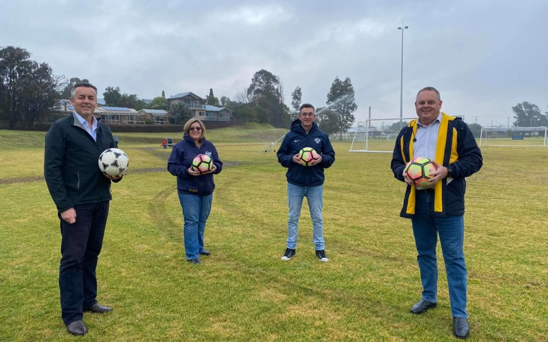 IRRIGATION UPGRADES FOR EAST GIPPSLAND UNITED FOOTBALL CLUB