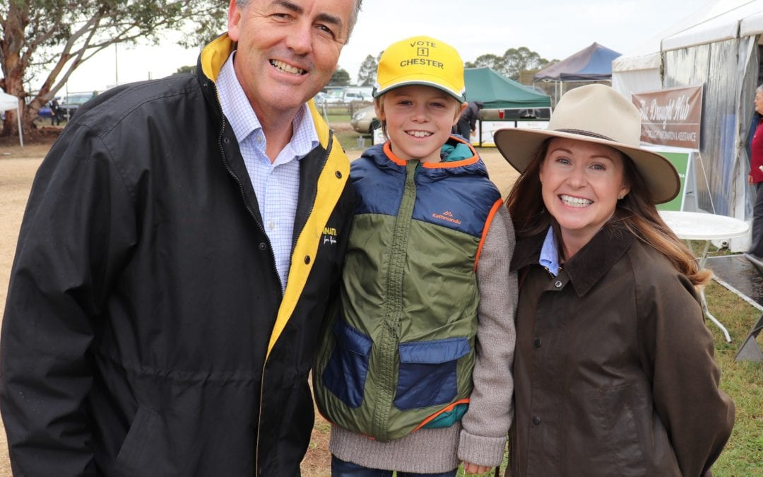 SHOW OF SUPPORT FOR GIPPSLAND FIELD DAYS