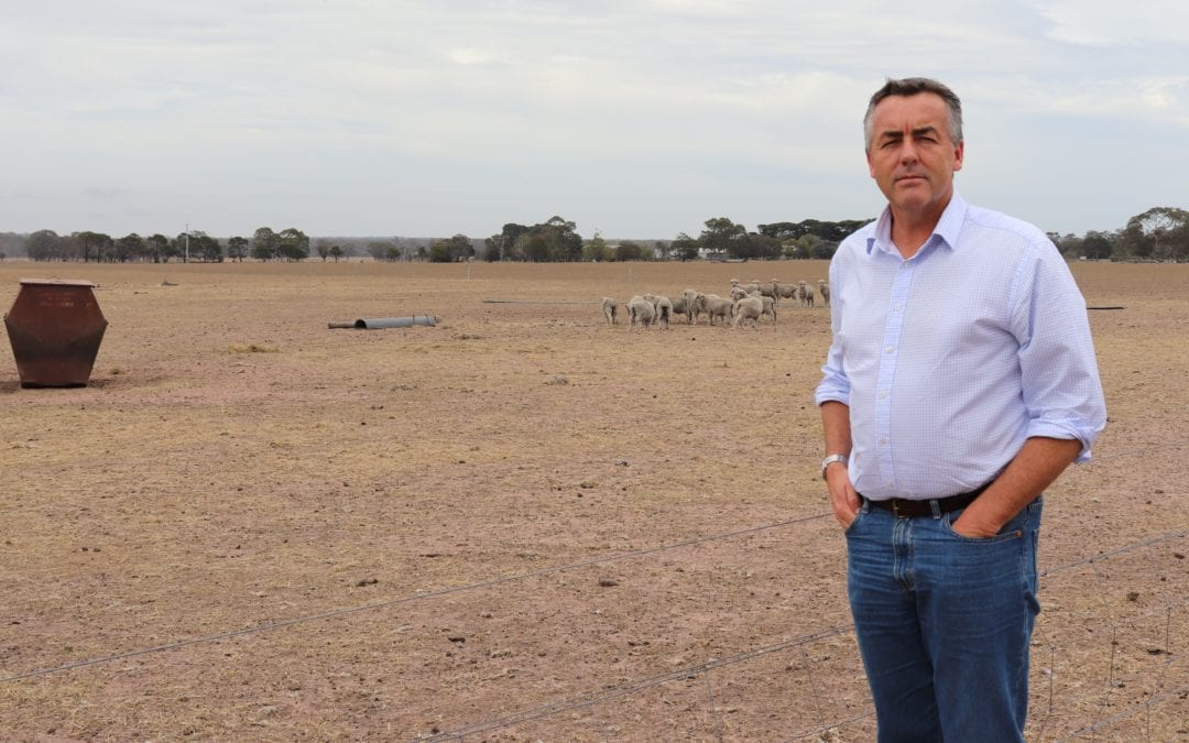 FURTHER FUNDING FOR DROUGHT RESILIENCE