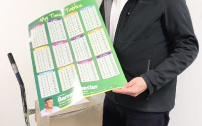 FREE TIMES TABLES POSTERS NOW AVAILABLE TO GIPPSLAND STUDENTS