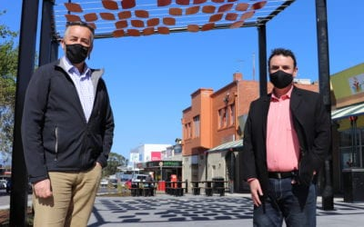 WORKS CONTINUE IN MORWELL'S COMMERCIAL HEART
