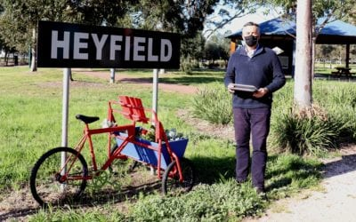 TENDERS CALLED FOR HEYFIELD PUMP TRACK