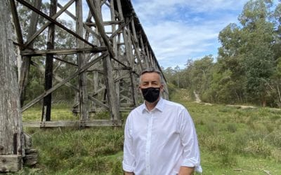 CHESTER BACKS EAST GIPPSLAND RAIL TRAIL DEVELOPMENT