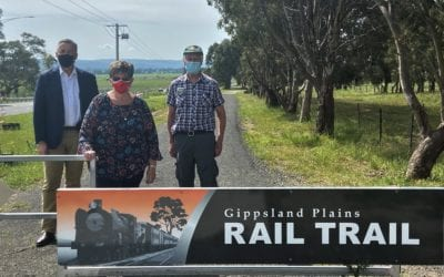 OPENING OF THE GIPPSLAND PLAINS RAIL TRAIL