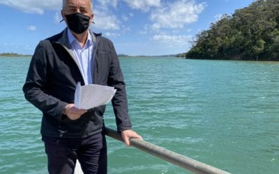 $1.8 MILLION FOR SHELLFISH REEFS IN THE GIPPSLAND LAKES