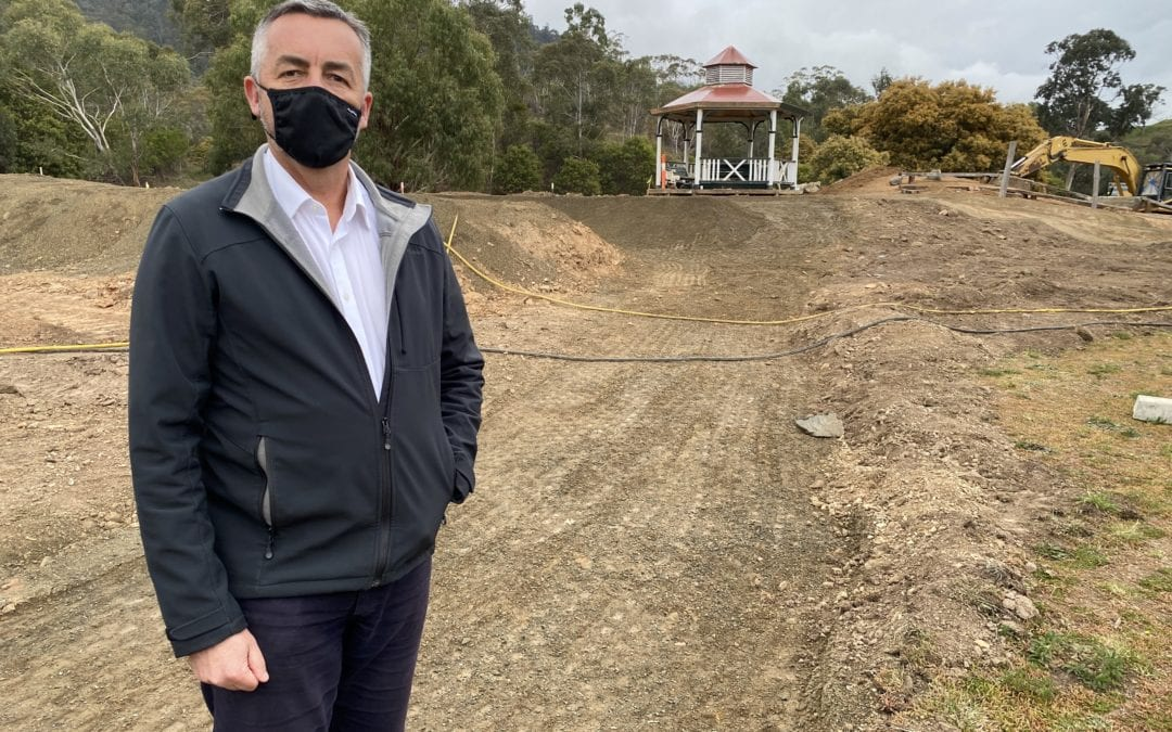 MOUNTAIN BIKE TRAILS KEY TO STRONGER FUTURE FOR OMEO