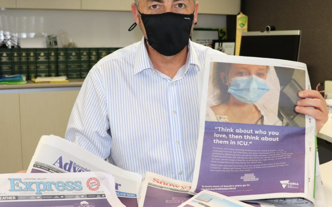 $90,000 HELPING HAND FOR EAST GIPPSLAND NEWSPAPERS