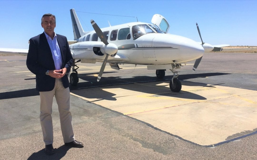 FUNDING HELP FOR REGIONAL AIRPORTS AND AERODROMES