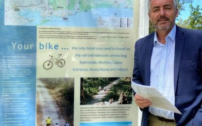 CHESTER CONTINUES TO CAMPAIGN FOR RAIL TRAIL FUNDING