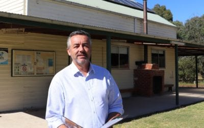 FEDERAL FUNDING FOR MEERLIEU TO HELP LIMIT IMPACT OF DROUGHT