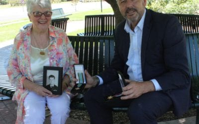 VALLEY FAMILY REPLACES LONG LOST MEDALS