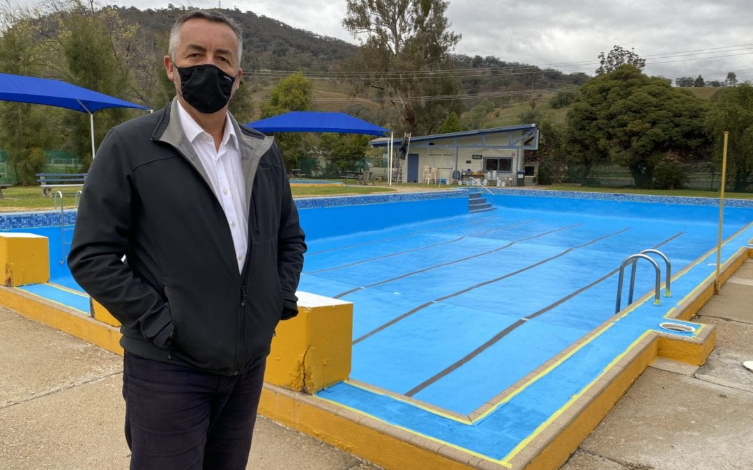 SWIFTS CREEK POOL UPGRADE UNDERWAY
