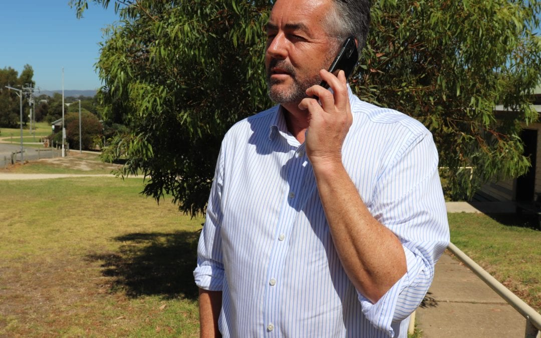 WORKING TO IMPROVE MOBILE PHONE COVERAGE IN LICOLA