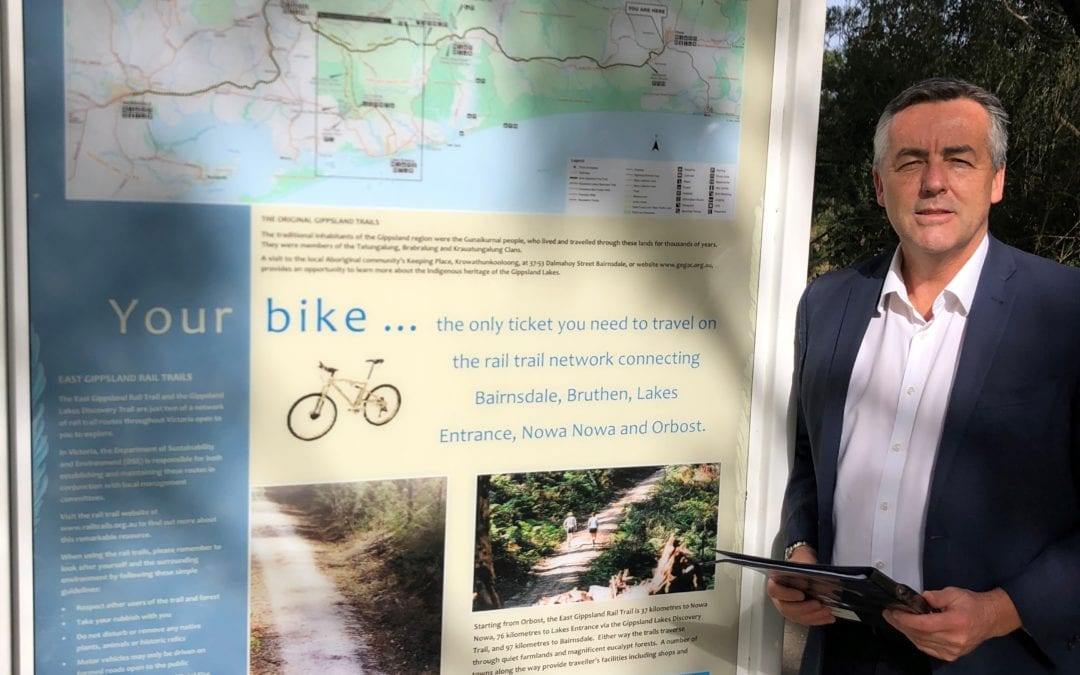 EAST GIPPSLAND SHORT-CHANGED BY BUSHFIRE FUNDS