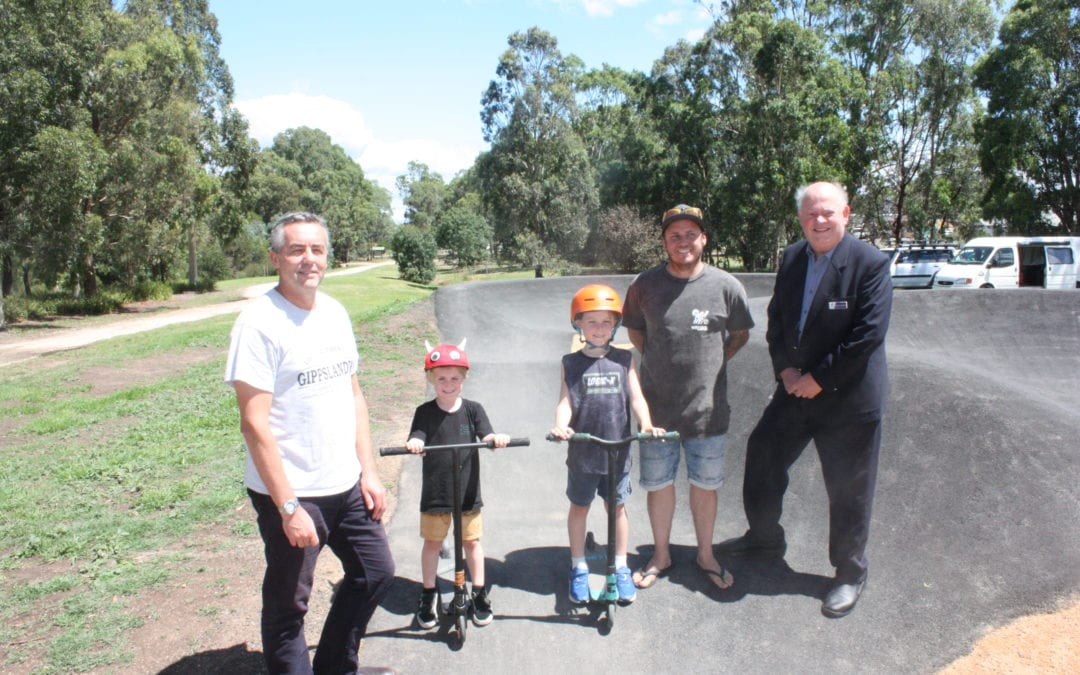OFFICIAL OPENING OF HEYFIELD YOUTH PRECINCT