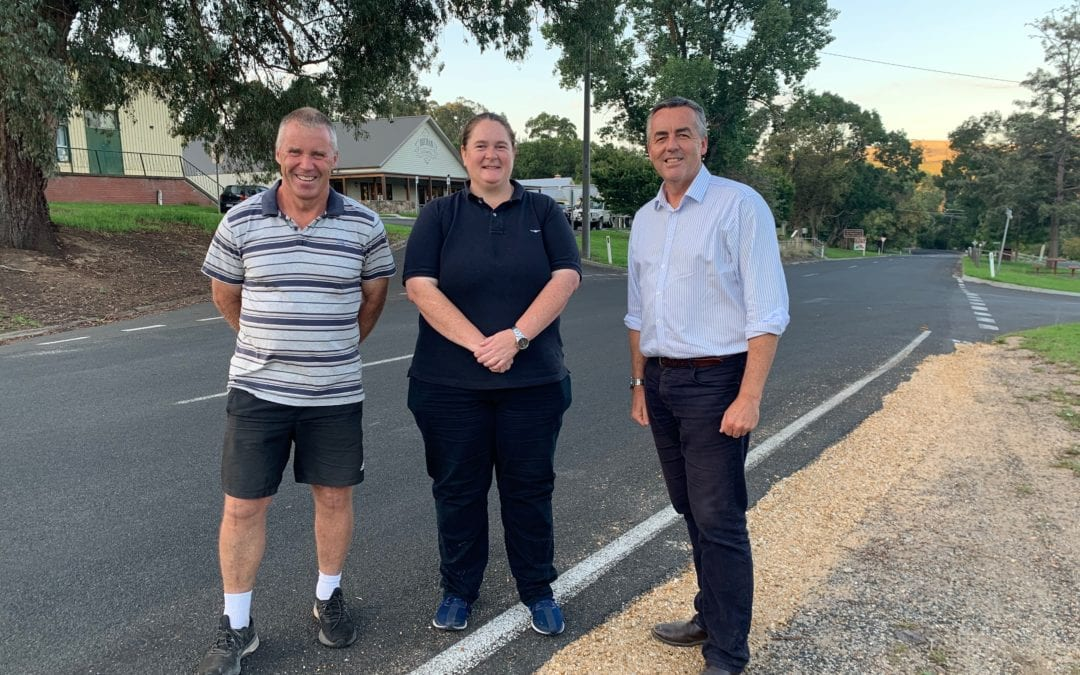 CHESTER MEETS WITH BUCHAN RECOVERY COMMITTEE MEMBERS
