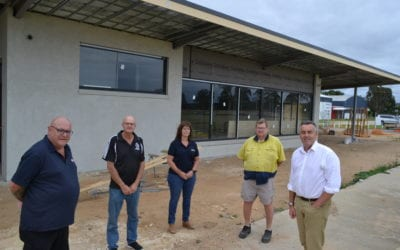 LUCKNOW RECREATION RESERVE UPGRADE TAKING SHAPE