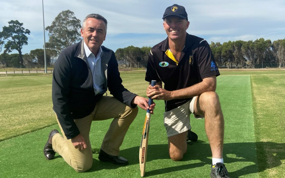 KEEGAN STREET RESERVE OFFICIALLY OPENS