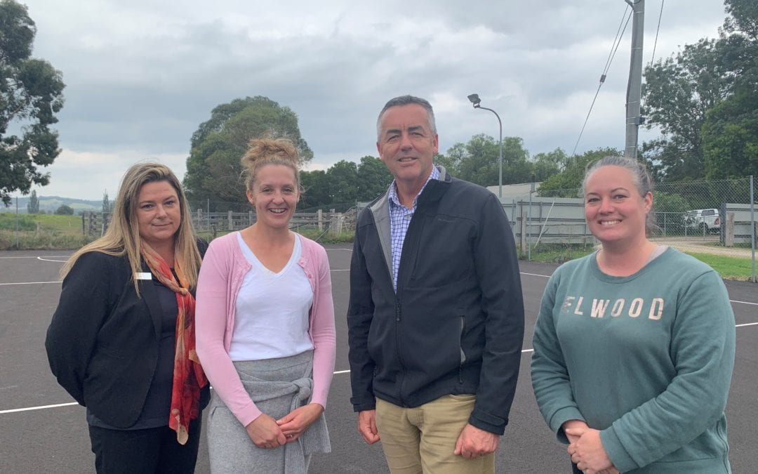 BRUTHEN NETBALL COURTS GET AN UPGRADE