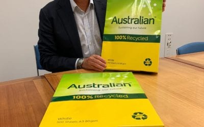 CHESTER ENCOURAGES ALL MINISTERS TO USE AUSTRALIAN PAPER