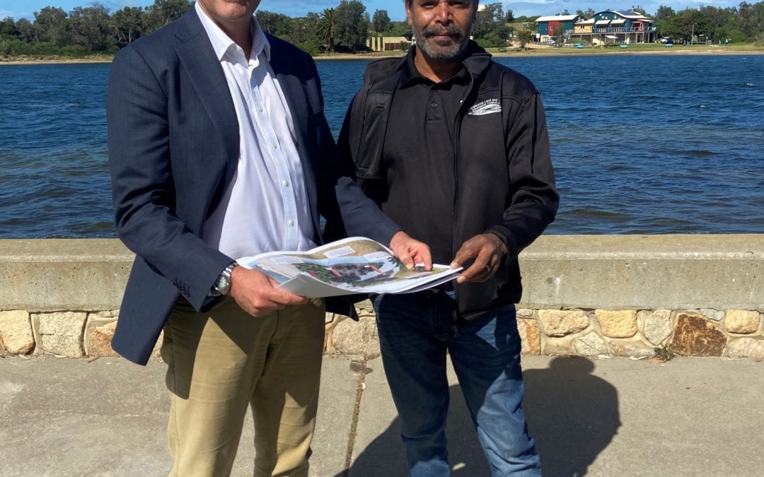 $2.2 MILLION BOOST FOR LAKES ENTRANCE WALK