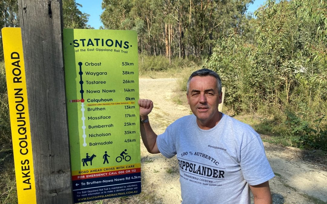 RAIL TRAIL $2 MILLION BOOST: CHESTER