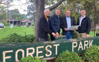 $1.3 MILLION UPGRADE FOR FOREST PARK IN ORBOST