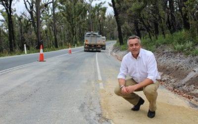 $10 MILLION TO UPGRADE MALLACOOTA-GENOA ROAD